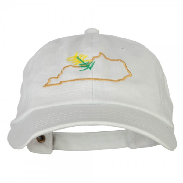 e4Hats.com Rasta Heart Embroidered Unstructured Cap