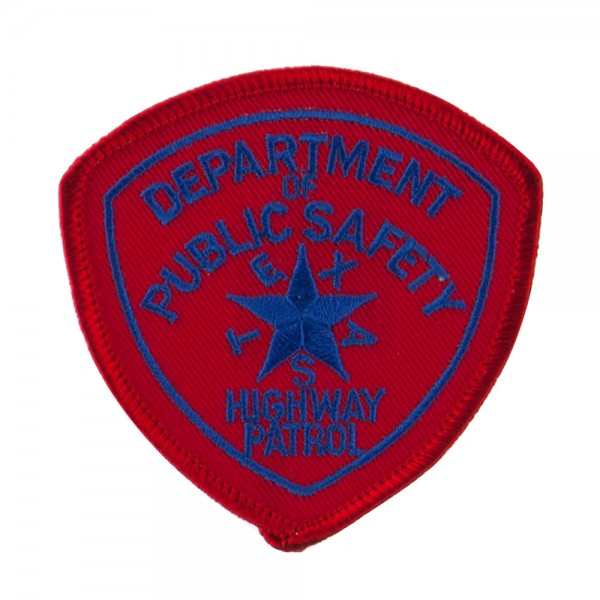 Patch Tx Hwy Mid State Police Embroidered Patches E4hats