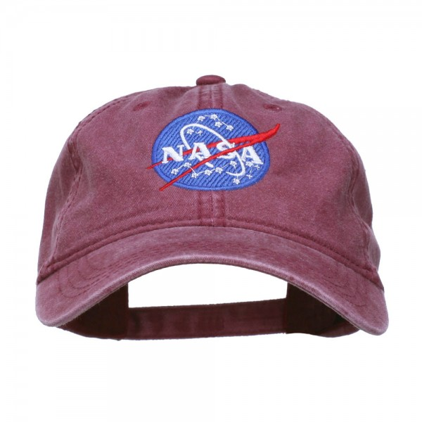 005a5d9f515  22.99 · NASA Insignia Embroidered Pigment Dyed Cap - Maroon  22.99 ...