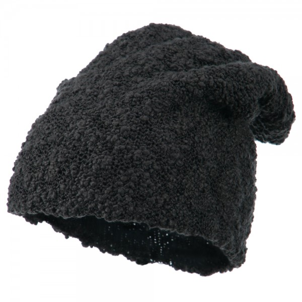 06c88059a6874  26.49 Deep Crown Popcorn Pattern Reversible Beanie - Charcoal  26.49 ...