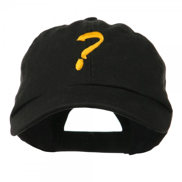 e4Hats.com Question Mark Embroidered Cap