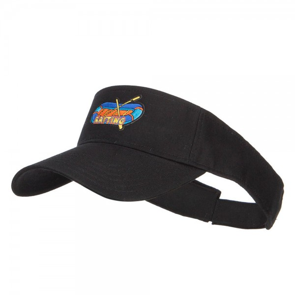 e4Hats.com PET Spun Fabric Sports Visor