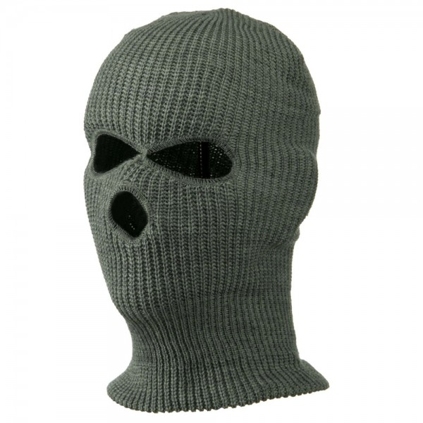 d1f3d254e51  17.49 Ski Mask with Three Holes - Grey  17.49 ...