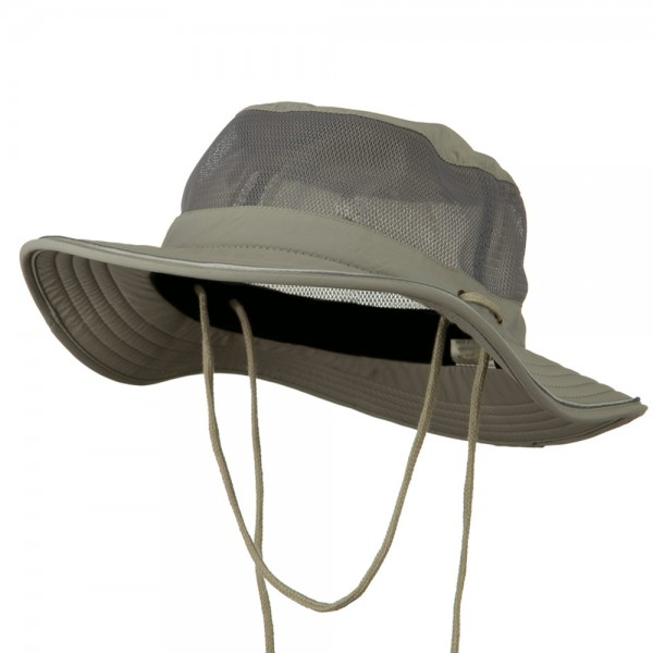 74b60a83 Outdoor - Grey Big Size Talson UV Mesh Bucket | Coupon Free | e4Hats.com