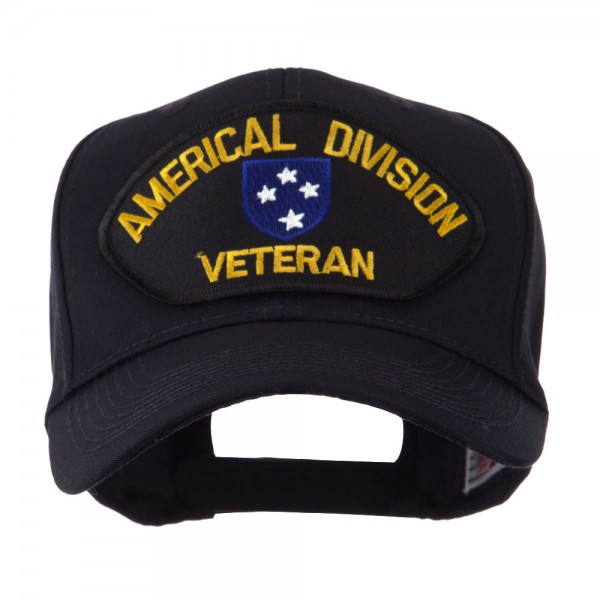Embroidered Cap - US Army Veteran Military Large Patch Cap  caea878d9c6