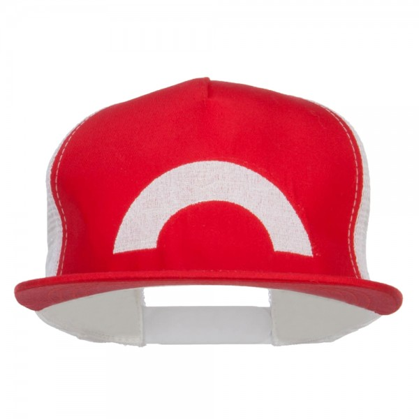 Embroidered Cap - Red White Ash XY Series Embroidered Cap  2f4cfe0ac