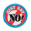 Patch - Just Say No Embroidered Patch