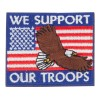 Patch - USA Support Troops Flag Patches