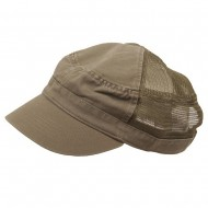 Enzyme Mesh Army Cap-Olive
