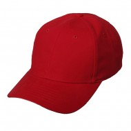 New Deluxe Cotton Caps-Red