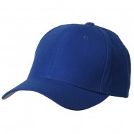 Fitted Cap-Royal Blue