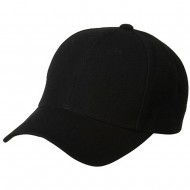 Fitted Cap-Black