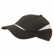 Low Profile Moisture Absorbing Cap-Black White