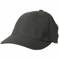 Wool Blend Cap (one size)-Charcoal