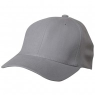 Wool Blend Cap (one size)-Light Grey