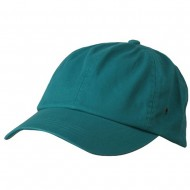 Normal Dyed Washed Caps-Green