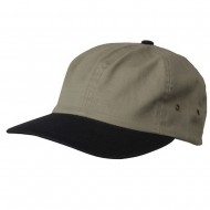 Normal Dyed Washed Caps-Olive Navy