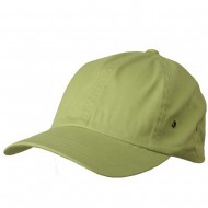 Normal Dyed Washed Caps-Lime