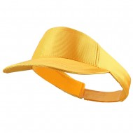 Dazzle Sports Visors-Gold