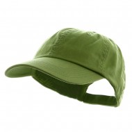 Washed Chino Twill Cap - Apple Green
