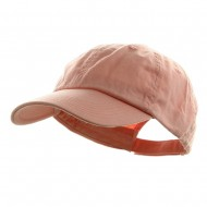 Washed Chino Twill Cap - Pink