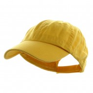 Washed Chino Twill Cap - Yellow