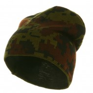 Digital Camo Beanie - Woodland