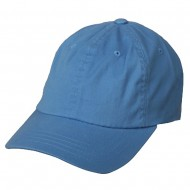 Washed Polo Cap (one size)-Blue