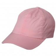 Washed Polo Cap (one size)-Pink