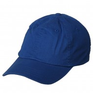 washed Polo Cap (one size)-Royal