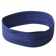 Pleated Cotton Twill Hat bands-Royal
