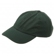 Kid's Bio Washed Polo Cap-Forest