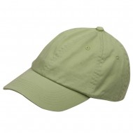 Youth Washed Chino Twill Cap-Apple Green