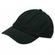 Youth Washed Chino Twill Cap-Dk Green