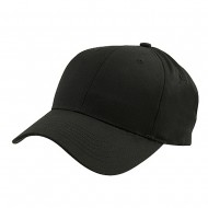 New Low Profile Organic Cotton Cap - Black