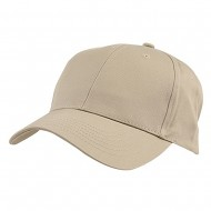 New Low Profile Organic Cotton Cap - Khaki