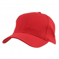 New Low Profile Organic Cotton Cap - Red