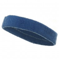 Head Band (terry)-Sky