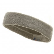 Headband (terry)-Lt Grey