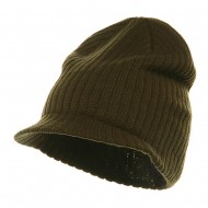 Striped Campus Jeep Cap - Olive