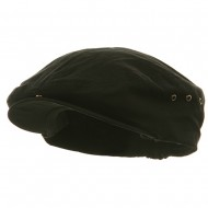 Washed Canvas Ivy Cap - Black