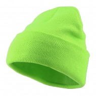 Classic Safety Cuff Beanie - Fluorescent Green