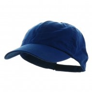 Washed Chino Twill Cap - Royal