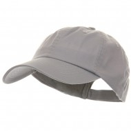 Low Profile Pet Spun Washed Cap - Grey
