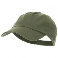 Low Profile Pet Spun Washed Cap - Olive