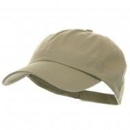 Low Profile Pet Spun Washed Cap - Khaki
