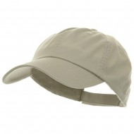 Low Profile Pet Spun Washed Cap - Stone