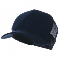 5 Panel Pet Spun Mesh Cap - Navy