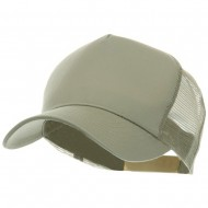 5 Panel Pet Spun Mesh Cap - Khaki