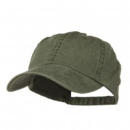 Pigment Dyed Wash Caps-Olive